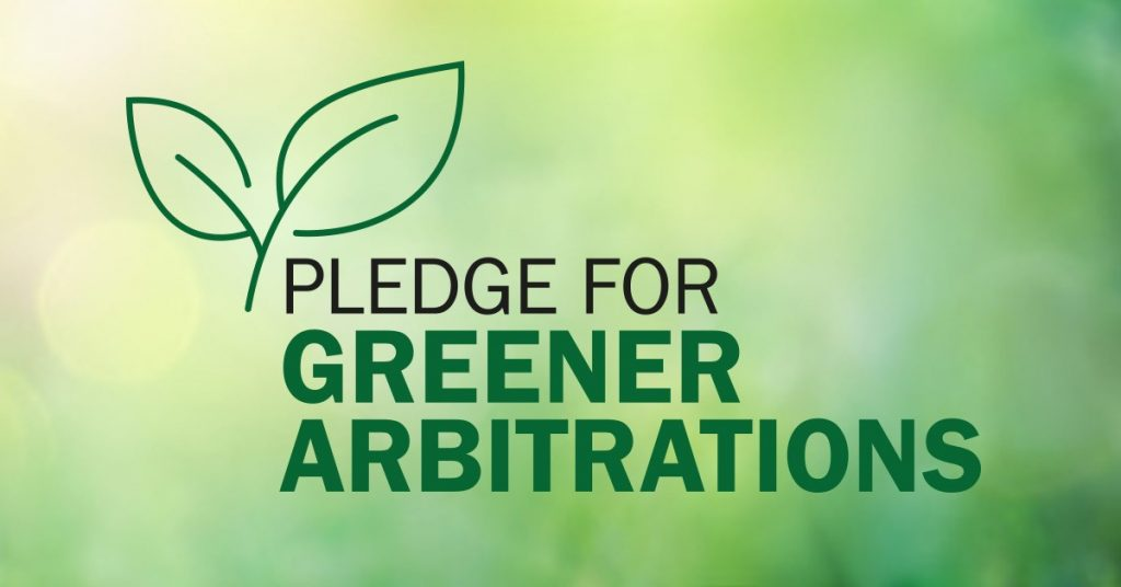 Green arbitration pledge